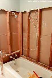 the hallway bathroom flooring u0026 a shower demolition love of