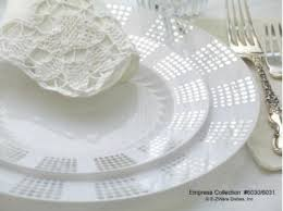 silver wedding plates plastic plates empress silver wedding reception supplies