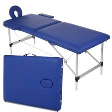 massage table carry bag amazon com homdox new blue portable massage table two fold with