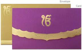 Sikh Wedding Card Sikh Wedding Cards Retailer From Bhubaneshwar
