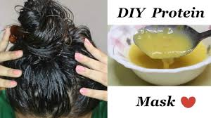 diy protein mask for reducing hair loss dandruff get healthy
