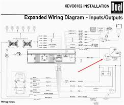 dual car radio wiring diagram and schematic also deck ansis me