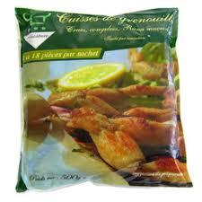 cuisiner cuisses de grenouilles surgel馥s mareyeur cuisses de grenouille 500 g auchan direct