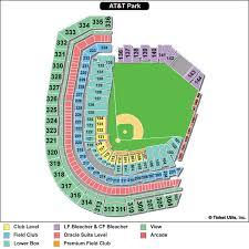 Bank Of America Stadium Map by At U0026t Park San Francisco Giants Ballpark Ballparks Of Baseball