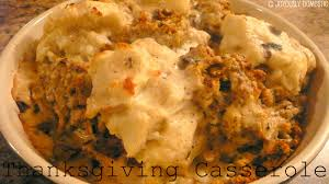 stuffing casserole recipe thanksgiving dannielle u0027s thanksgiving casserole recipe 3 5