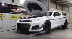 hennessy camaro hennessey builds the exorcist chevrolet camaro zl1 1le just in