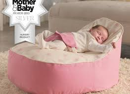 Toddler Bean Bag Chairs Baby Toddler Bean Bag Support Chair Safety Sleep Pink With
