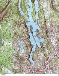 Kayak Map Canoe U0026 Kayaking Map For Ball Pond U0026 Lake Candlewood