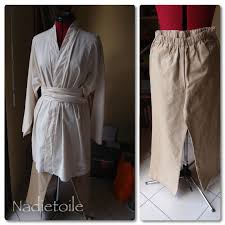 patron veste kimono chevaliers jedi nadietoile