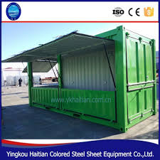 practical luxury container house price container coffee shop