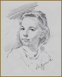 crimmins portrait sketch by igor babailov