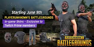 pubg twitch twitch on twitter exclusive pubattlegrounds in game skins for