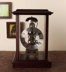 mechanical desk clock purchase e studio multicolor wooden mechanical desk clock 521257
