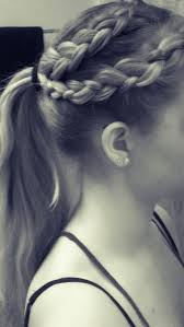 Cute Sporty Hairstyles 29 Best Sporty Hair Images On Pinterest Hairstyles Braids And