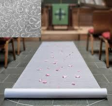 white aisle runner floral lace white aisle runner white wedding aisle runner