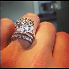 diamond rock rings images Jewelry big rock engagement super star ring poshmark jpg