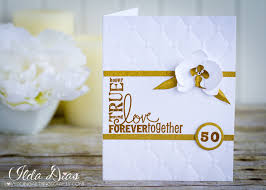 50th wedding anniversary party favors i love doing all things crafty 50th wedding anniversary card