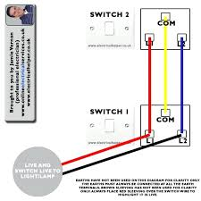 how to hook up a light switch how to hook up a 3 way light switch dekomiet info