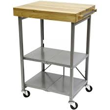 folding kitchen island cart great origami 26 in l x 20 in w foldable kitchen island cart in
