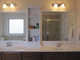 Bathroom Mirror And Shelf Bathroom Mirror With Shelf Doherty House Creating The
