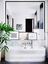 Modern Marble Bathroom 30 Cool Ideas To Use Big Mirrors In Your Bathroom Digsdigs