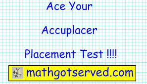accuplacer arithmetic pt i testprep exam practice math placement