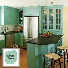 Color For Kitchen Cabinets by Refresh Your Rooms With Bold Color Combinations Black Counters