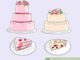 wedding cake price 3 ways to get a lower wedding cake price wikihow