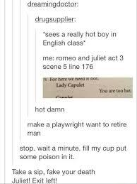 Tumblr Memes - shakespeare according to tumblr riveted