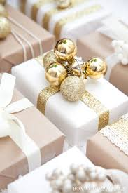 gold gift wrap creative gift wrap ideas and christmas printables