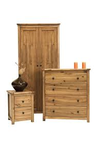 Denver Pine  Draw Chest Of Drawers Wide Draws Bedroom Furniture - Bedroom furniture denver