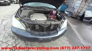 parting out 2007 lexus rx 350 stock 5271br tls auto recycling