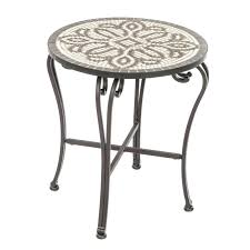 Mosaic Accent Table Inspirational Patio Accent Table And Mosaic 67 Christopher