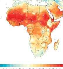 Africa Population Map by Population Density The Center For Climate U0026 Security