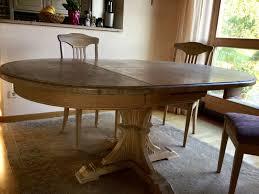 Esszimmer Massiv Gebraucht Tisch Rund Ausziehbar Gebraucht 02 58 43 Egenis Com