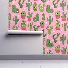 cactus home decor happy cactus pink cute cactus wallpaper by andrea lauren