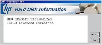 format hard disk tool hp notebook pcs identifying an advanced format hard drive hp