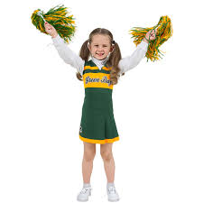 Cheerleader Costume Halloween Green Bay Packers Infant Cheerleader Dress Halloween