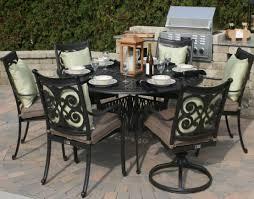 Aluminium Patio Table Furniture Cast Patio Furniture Enjoyable Cast Aluminum Patio