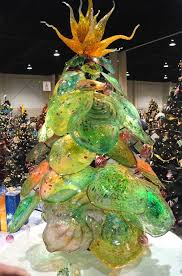 21 best art glass christmas trees images on pinterest glass