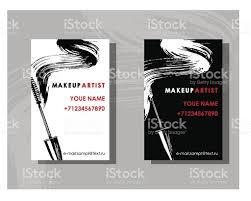 makeup artist business card stock vector art 639298366 istock