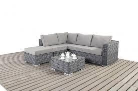 rattan corner sofa platinum small grey rattan corner sofa homegenies