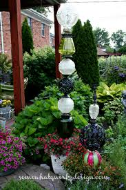 Glass Globes For Garden Somewhat Quirky How To Build A Glass Globe Totem