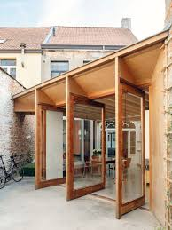 Rowhou Com by I S M Architecten Have Transformed A Row House Into A Light Filled