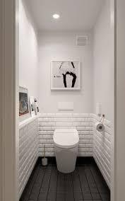 Bathroom Tile Black And White - black and white bathroom bathroom designs pinterest toilet