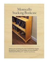 monticello u0027s stacking box download shopwoodworking