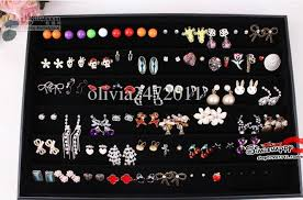 make your own earrings studs jewelry earrings tray display jewelry studs trays display holder