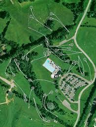 Lexington Ky Map Shillito Park Professional Disc Golf Association