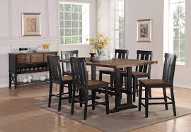 dining room 7 piece sets gracie oaks goodman 7 piece counter height dining set u0026 reviews