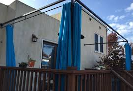 Outdoor Privacy Curtains To Customize Your Outdoor Areas With Privacy Screens